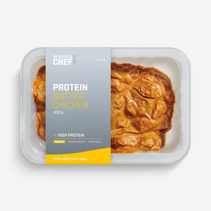 PLUS +   PROTEIN Butter Chicken image number null