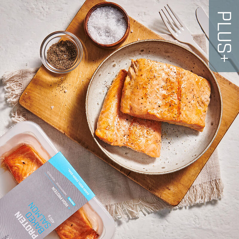 PLUS + | PROTEIN Baked Salmon image number null