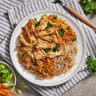 Chicken & Sweet Potato Noodle Salad