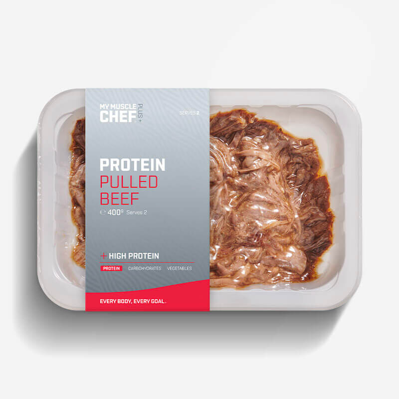 PLUS + | PROTEIN Pulled Beef image number null