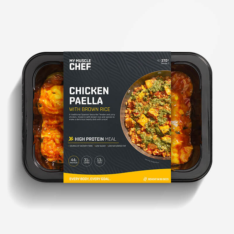 Chicken Paella With Brown Rice image number null