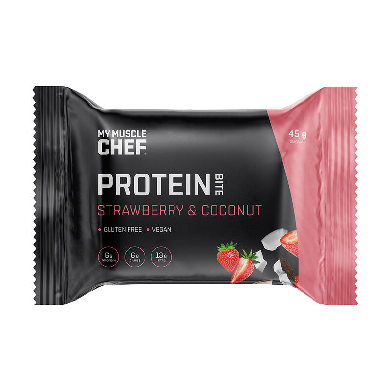 Protein Bite: Strawberry & Coconut image number null