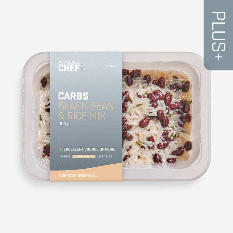 PLUS +   CARBOHYDRATES Black Bean & Rice Mix image number null