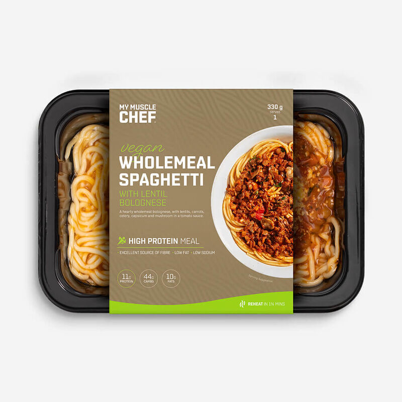 Wholemeal Spaghetti with Lentil Bolognese image number null