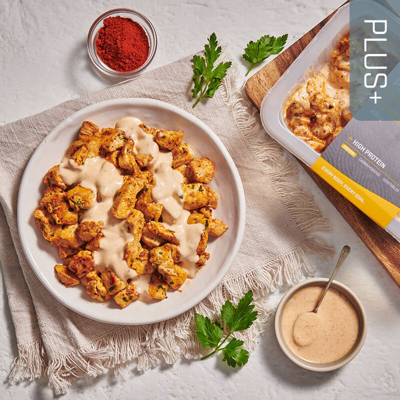 PLUS + | PROTEIN Chipotle Chicken image number null