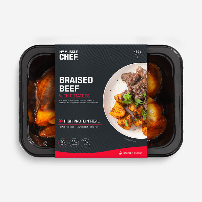 Classic Braised Beef with Potatoes image number null