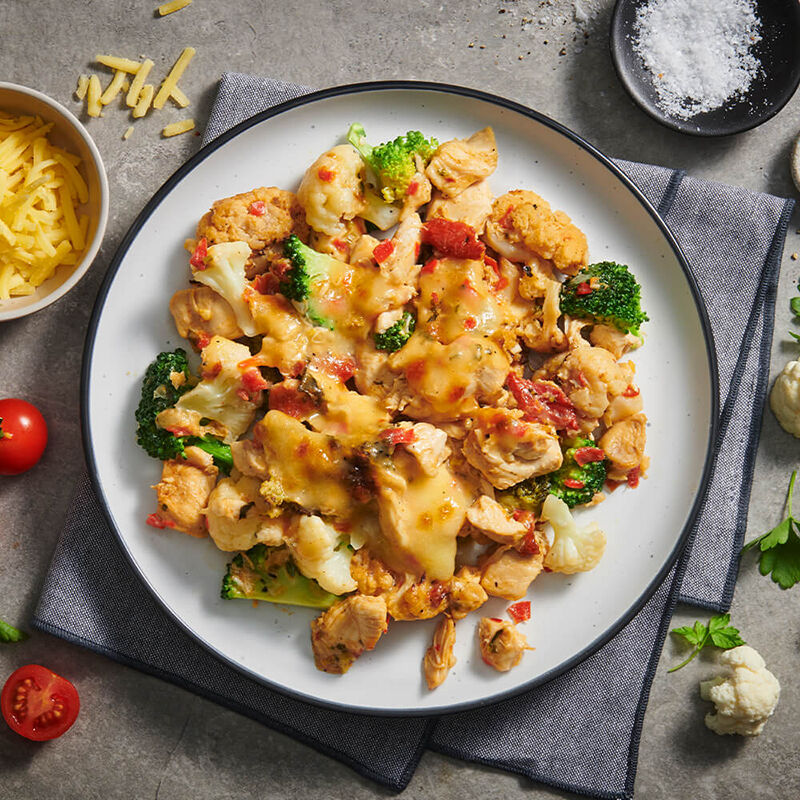 Chicken & Cauliflower Bake