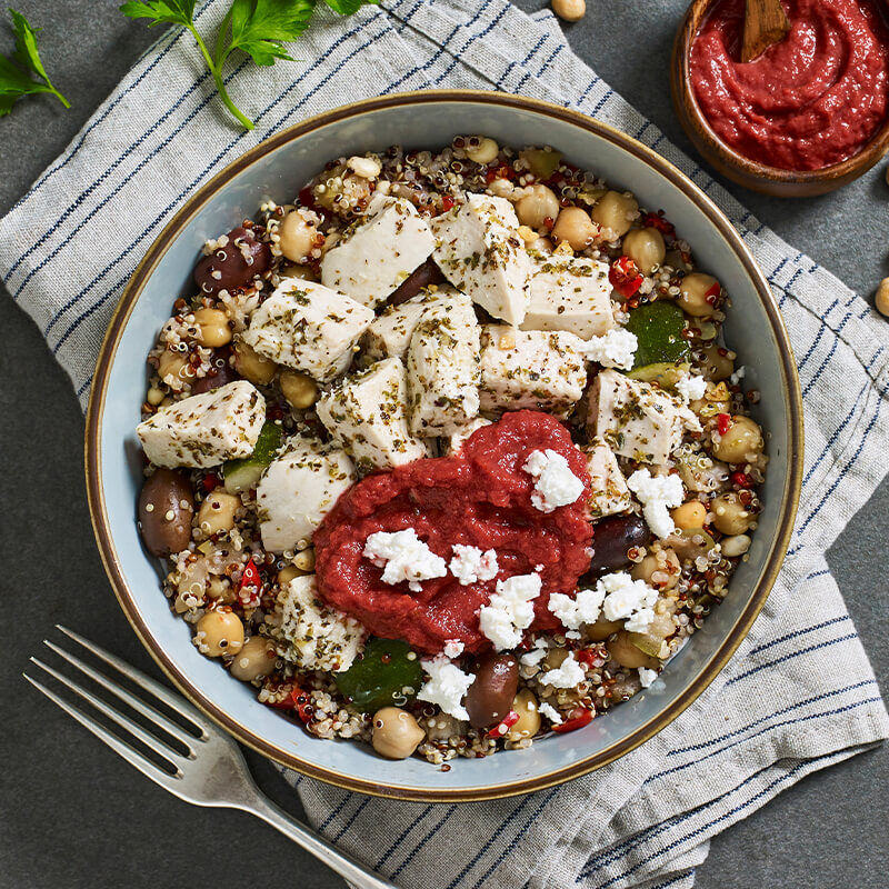 Mediterranean Chicken Power Bowl