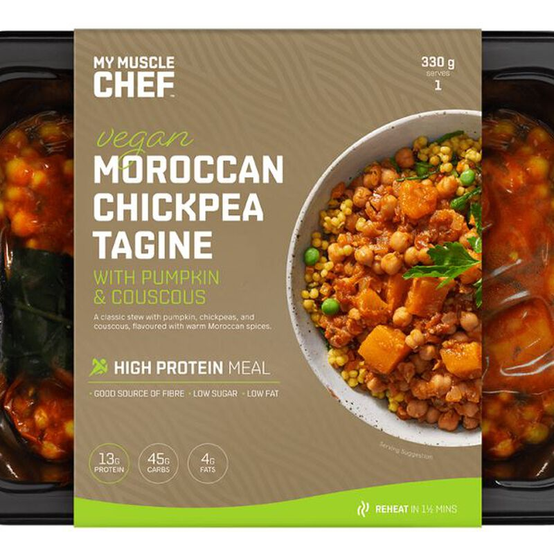 Moroccan Chickpea Tagine with Pumpkin and Cous Cous image number null