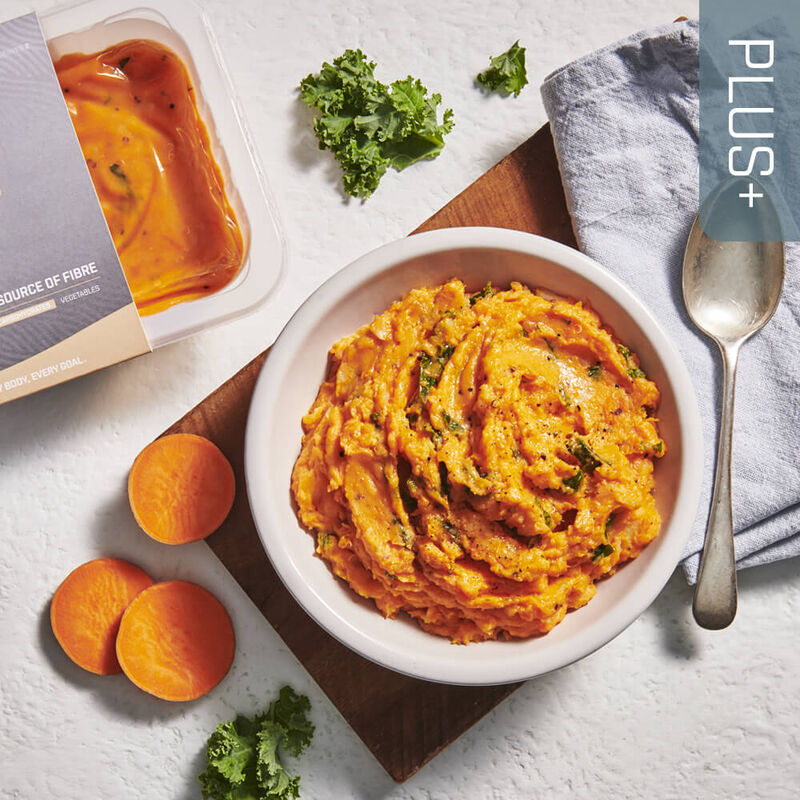 PLUS + | CARBOHYDRATES Sweet Potato Mash image number null
