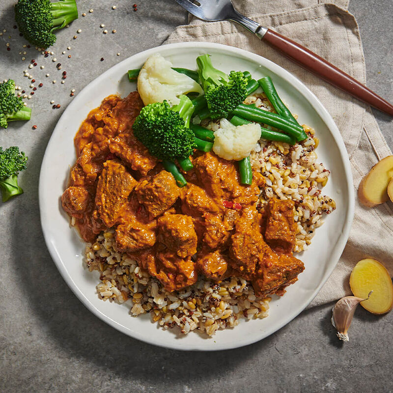 Beef Rendang with Vegetables & Ancient Grains