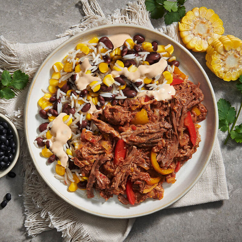 Mexican Beef Burrito Bowl