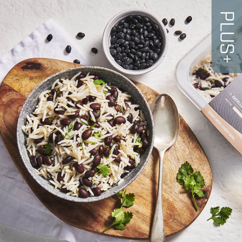 PLUS + | CARBOHYDRATES Black Beans & Rice Mix image number null