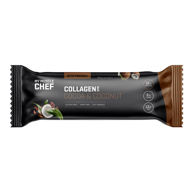Collagen Bar - Cocoa & Coconut image number null