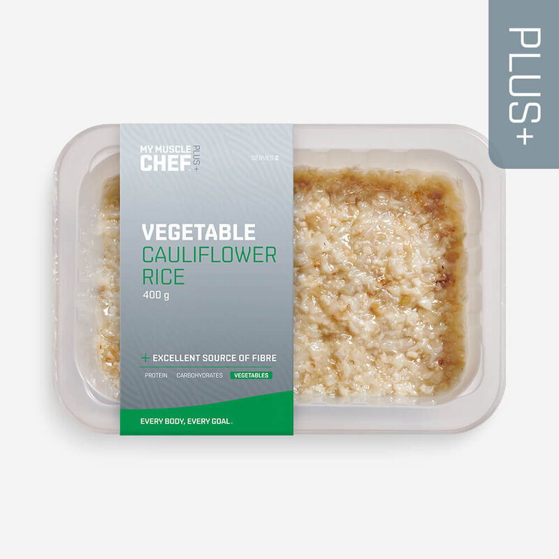 PLUS + | VEGETABLES Cauliflower Rice image number null