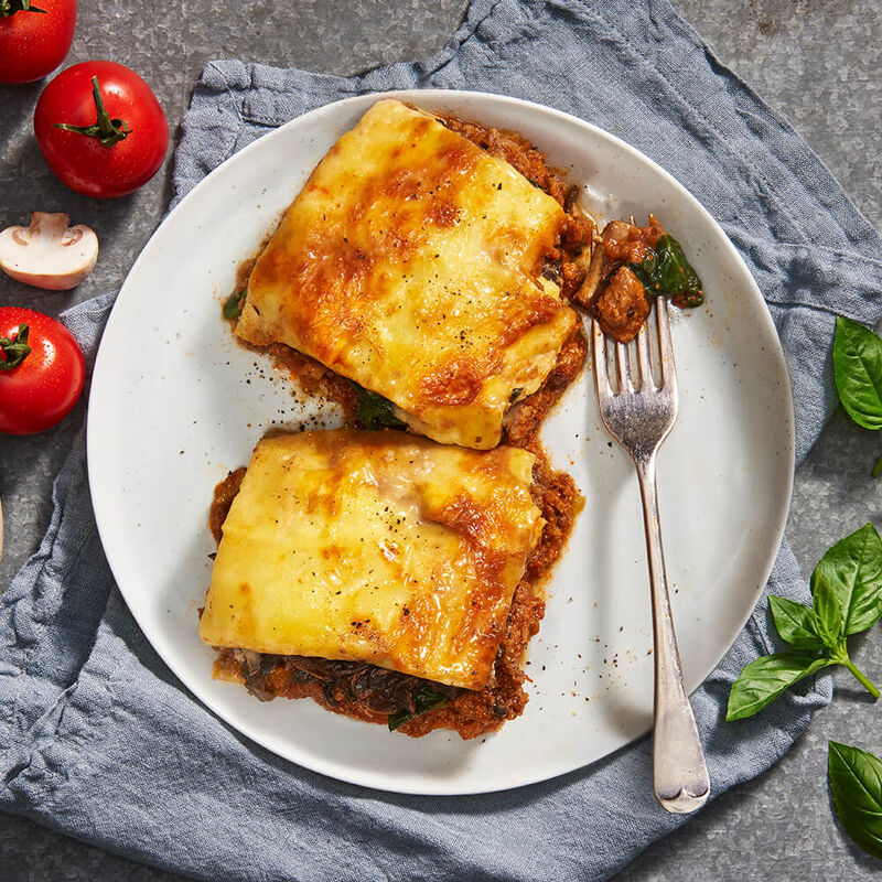 Beef Lasagne image number null