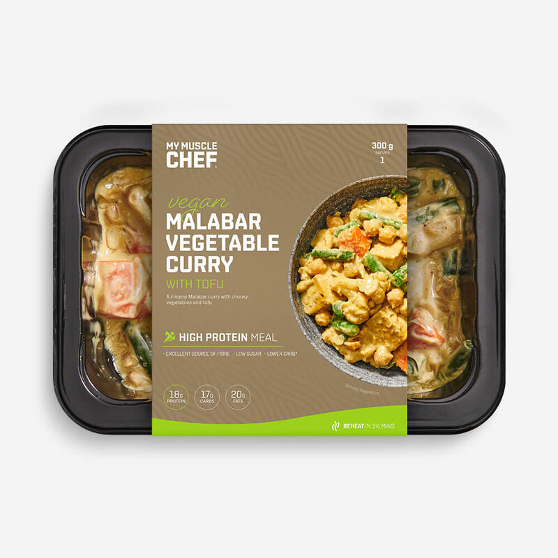 Malabar Vegetable Curry with Tofu image number null