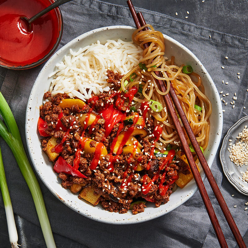 Korean Beef Bulgogi Bowl image number null