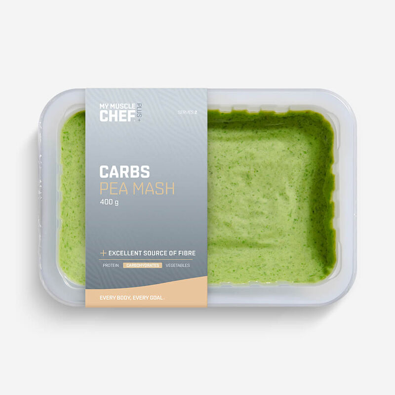 PLUS + | CARBOHYDRATES Pea Mash image number null