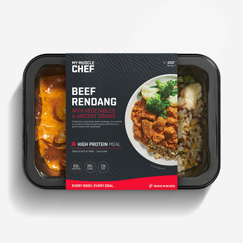 Beef Rendang with Vegetables & Ancient Grains image number null