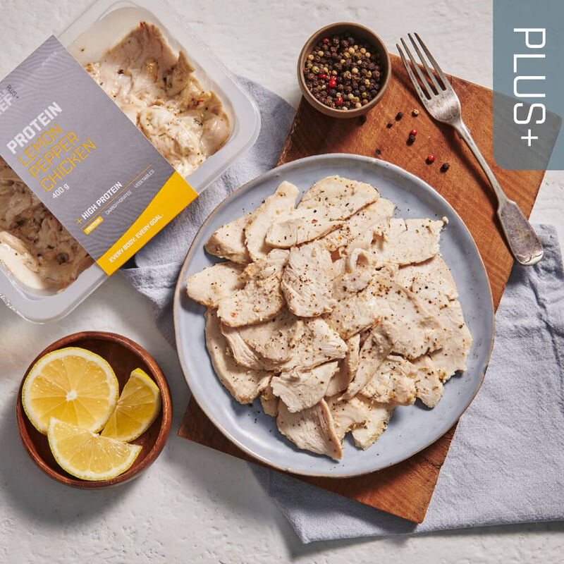 PLUS + | PROTEIN Lemon Pepper Chicken image number null