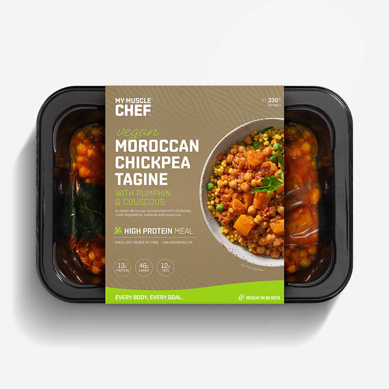 Moroccan Chickpea Tagine with Pumpkin & Couscous image number null