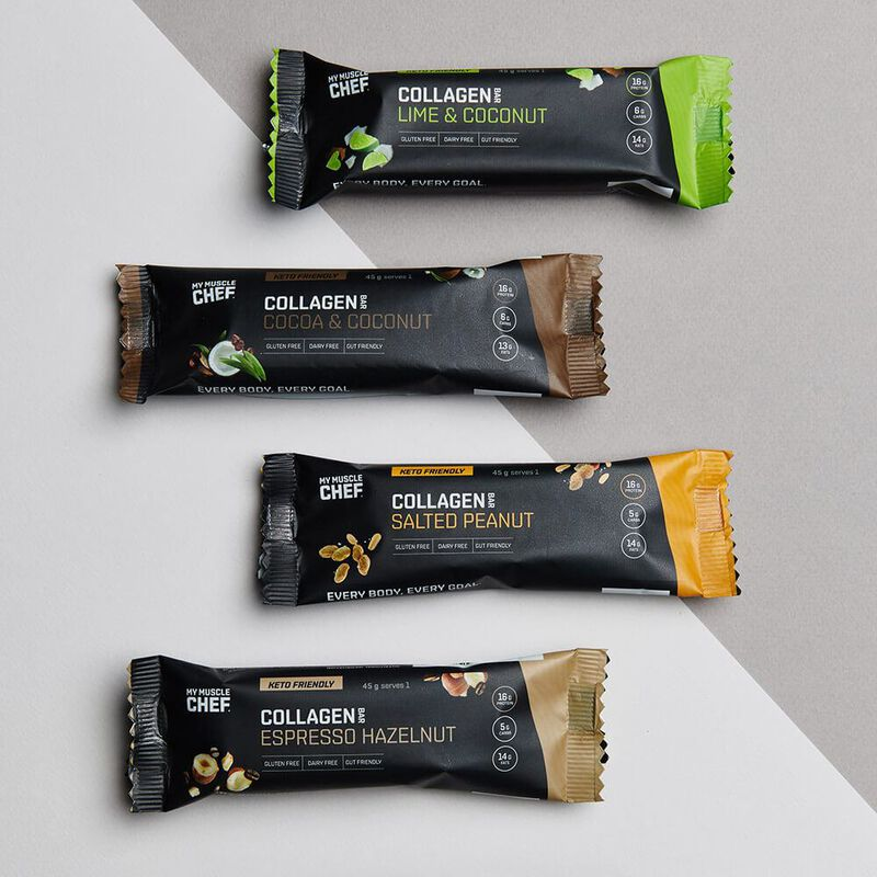 Collagen Protein Bar: Variety 4 Pack image number null