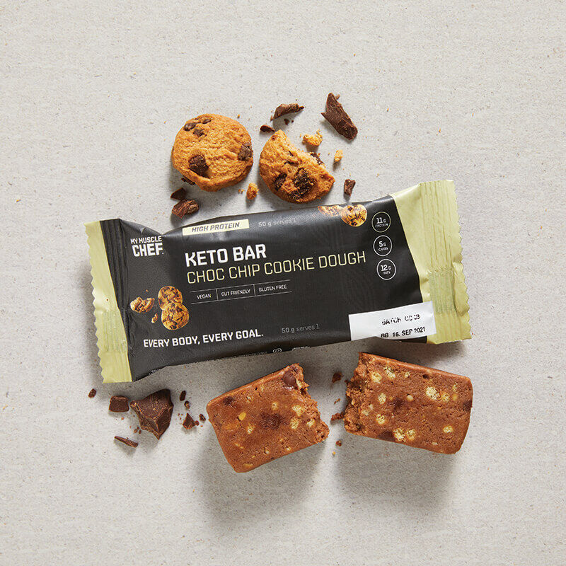 Keto Bar: Choc Chip Cookie Dough image number null
