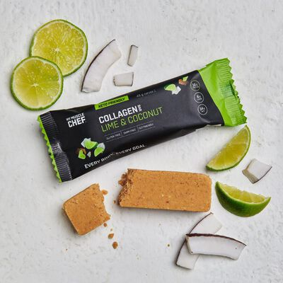 Collagen Bar: Lime & Coconut
