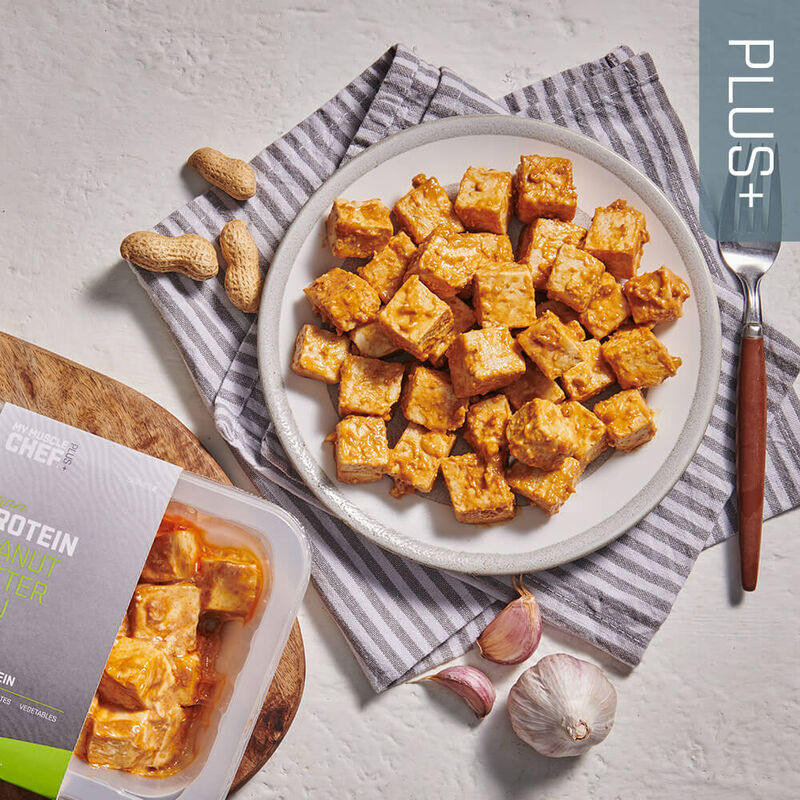 PLUS +   PROTEIN Peanut Butter Tofu image number null