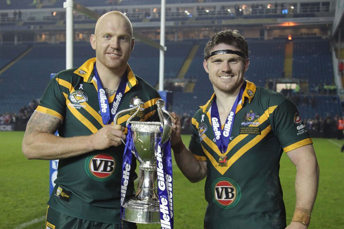 Chris Lawrence Represents Australia | Rugby League | Take Back Control | MYMC