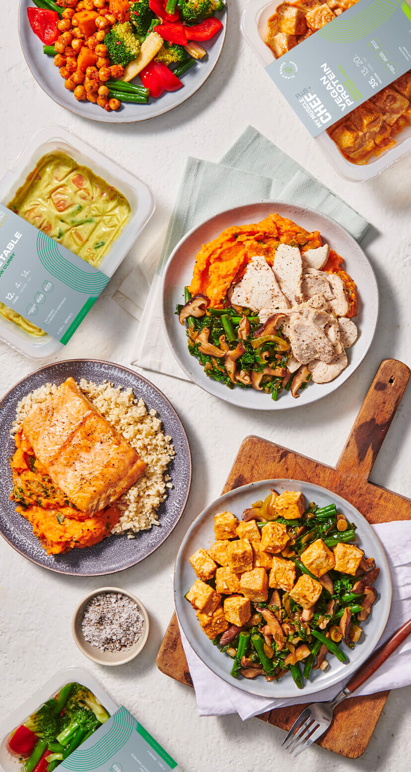 MYMC Plus+ | Ready Made Protein, Carbs & Vegetable Portions