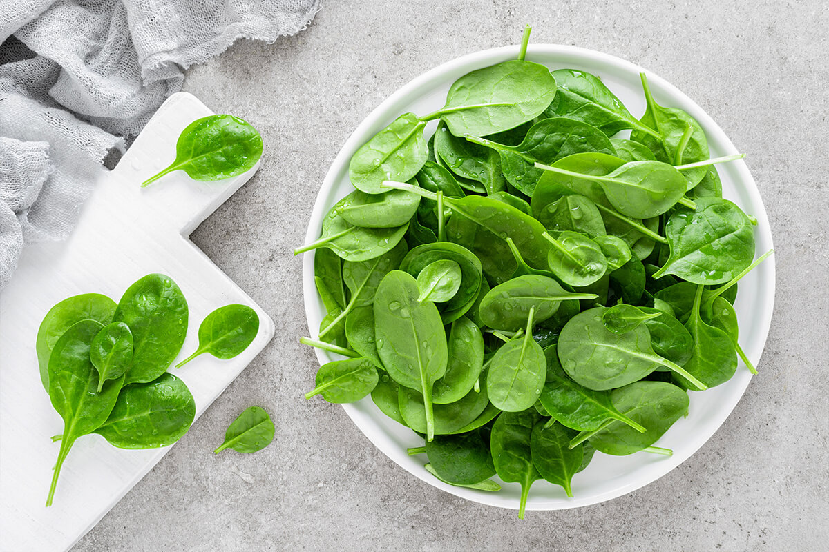 Bowl Full of Spinach Leaves | My Muscle Chef