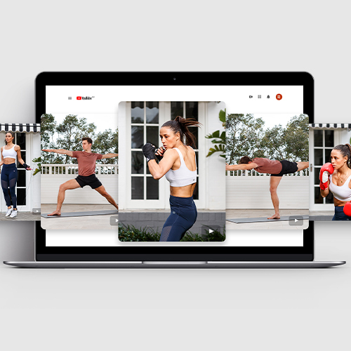 Move with MYMC | Partner Workout Video Series | Boxing & Yoga